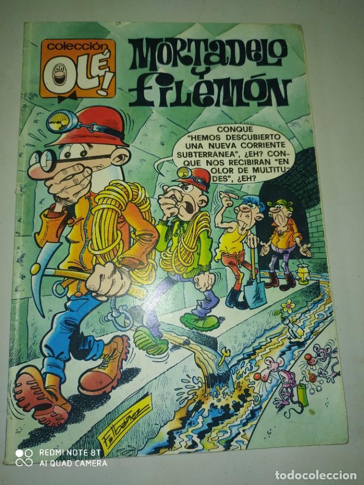 MORTADELA Y FILEMÓN .COLECCION OLE . 250 PTAS (Tebeos y Comics - Ediciones B - Clásicos Españoles)