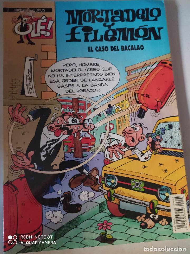 MORTADELA Y FILEMÓN.EL CASO DEL BACALAO .OLE 4 €. (Tebeos y Comics - Ediciones B - Clásicos Españoles)