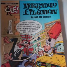 Cómics: MORTADELA Y FILEMÓN.EL CASO DEL BACALAO .OLE 4 €.. Lote 215284651