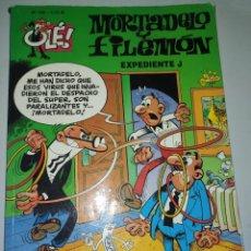 Cómics: MORTADELA Y FILEMÓN.EXPEDIENTE J .OLE 135 2.75€.. Lote 215285995