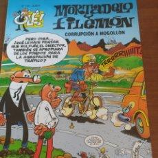 Cómics: MORTADELO Y FILEMÓN. OLE . CORRUPCIÓN A MOGOLLON. .N 125 4€. Lote 215443127