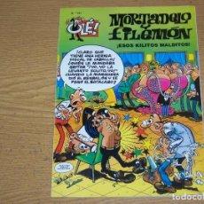 Fumetti: OLE MORTADELO Y FILEMON 141 ESOS KILITOS MALDITOS. Lote 215482195