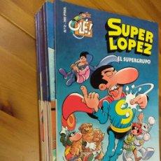 Cómics: 13 SUPER LOPEZ SUPERLOPEZ Nº ENTRE EL 2 Y EL 27 - JAN (EDICIONES B 1995) - PORTADA EN RELIEVE. Lote 156743994