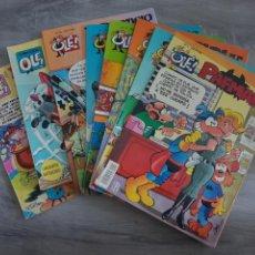 Cómics: LOTE CON 12 COMICS OLE. PAFMAN, ZIPI Y ZAPE Y MORTADELO Y FILEMON. Lote 216614420