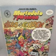 Fumetti: MAGOS DEL HUMOR 87: MORTADELO Y FILEMÓN: LLEGÓ EL EURO. Lote 216653237