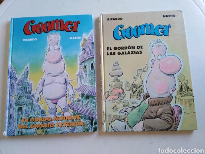 LOTE DE 2 CÓMIC GOOMER (Tebeos y Comics - Ediciones B - Humor)