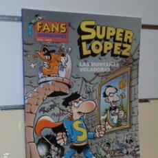 Comics: SUPER LOPEZ LAS MONTAÑAS VOLADORAS FANS SUPERLOPEZ Nº 43 - EDICIONES B OFERTA. Lote 247052555