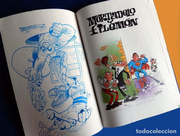 Cómics: OLÉ Nº 25, MORTADELO Y FILEMÓN - EDICIONES B, CON ERROR EN CONTRAPORTADAS - F. IBÁÑEZ - ORIGINAL - - Foto 3 - 217168723