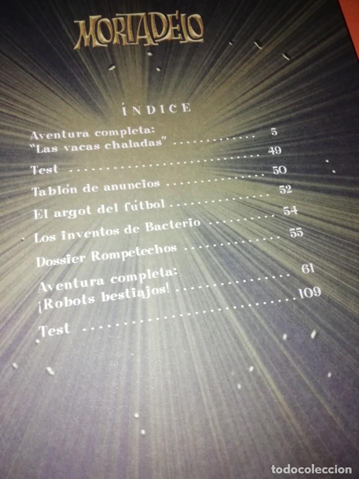 Cómics: MORTADELO. TOP COMIC. NUMEROS 7,18,24,26 Y 28. LA HISTORIA DEL DINERO, BANKUNION. - Foto 4 - 217194716