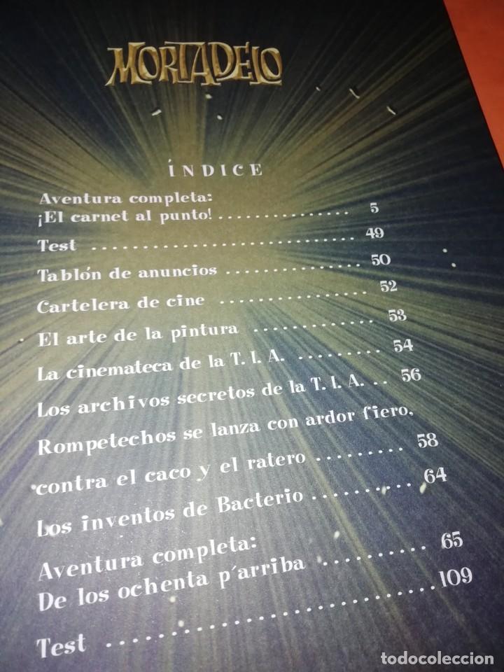 Cómics: MORTADELO. TOP COMIC. NUMEROS 7,18,24,26 Y 28. LA HISTORIA DEL DINERO, BANKUNION. - Foto 5 - 217194716