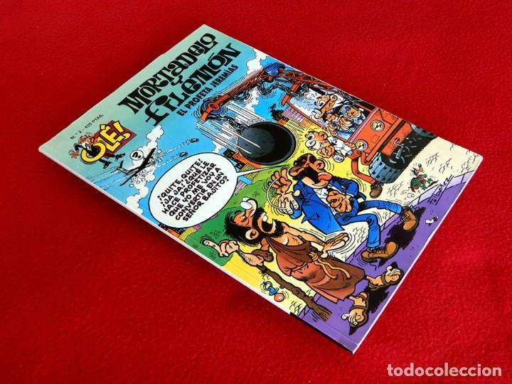 Cómics: OLÉ Nº 2 - MORTADELO Y FILEMÓN - EDICIONES B - GRUPO Z - 3ª EDICIÓN 1999, - F. IBÁÑEZ - ORIGINAL - - Foto 2 - 217223085