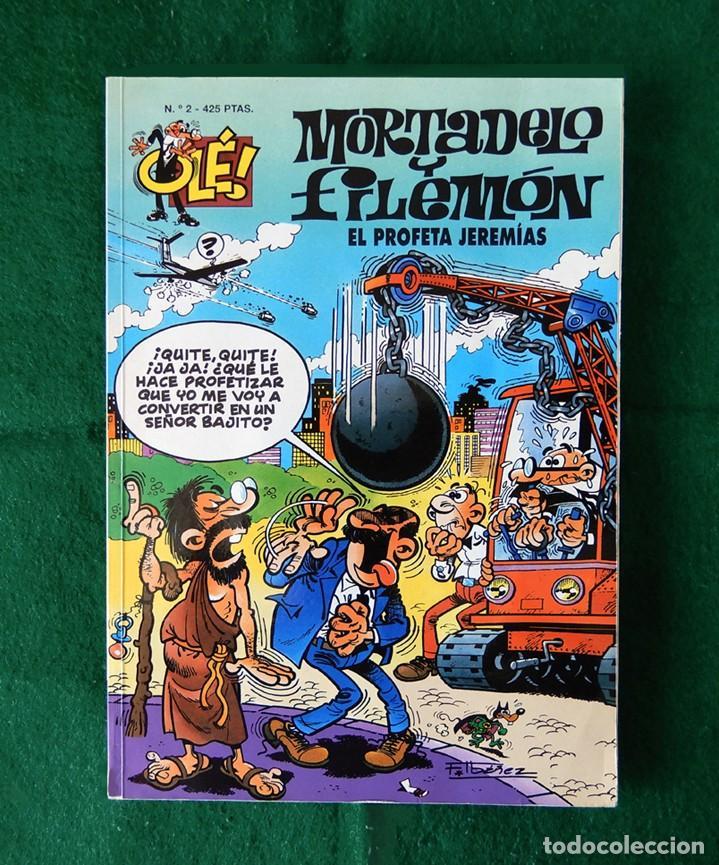 OLÉ Nº 2 - MORTADELO Y FILEMÓN - EDICIONES B - GRUPO Z - 3ª EDICIÓN 1999, - F. IBÁÑEZ - ORIGINAL - (Tebeos y Comics - Ediciones B - Humor)