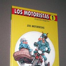 Cómics: LOS MOTORISTAS Nº 1. LOS MOTORRISAS. CHARLES DEGOTTE. DRAGÓN COMICS, EDICIONES B, 1990. Lote 217369812