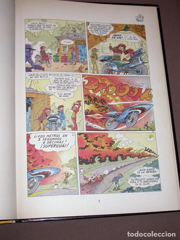 Cómics: LOS MOTORISTAS Nº 1. LOS MOTORRISAS. CHARLES DEGOTTE. DRAGÓN COMICS, EDICIONES B, 1990 - Foto 3 - 217369812