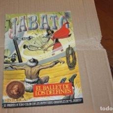 Cómics: JABATO Nº 60, EDICIÓN HISTÓRICA, EDICIONES B. Lote 217369868