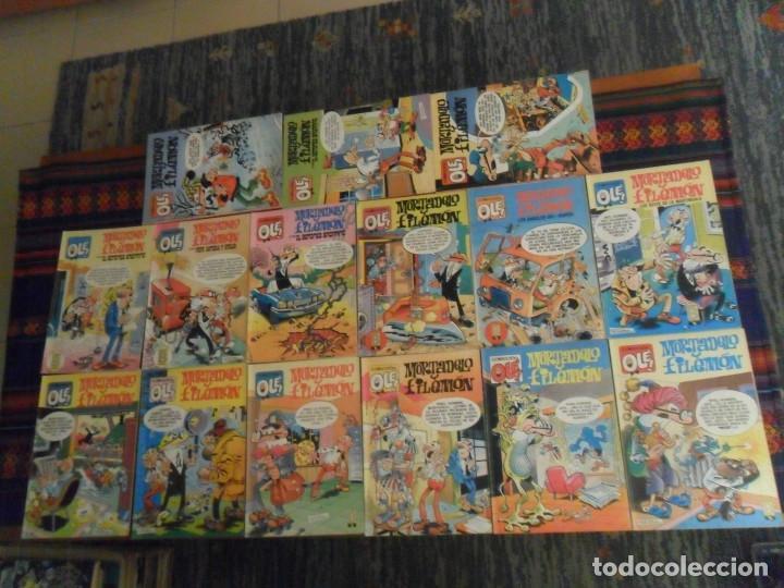 BUEN PRECIO Y BUEN ESTADO, LOTE 15 OLÉ MORTADELO Y FILEMÓN. EDICIONES B. ENTRA Y MIRA NºS. (Tebeos y Comics - Ediciones B - Humor)
