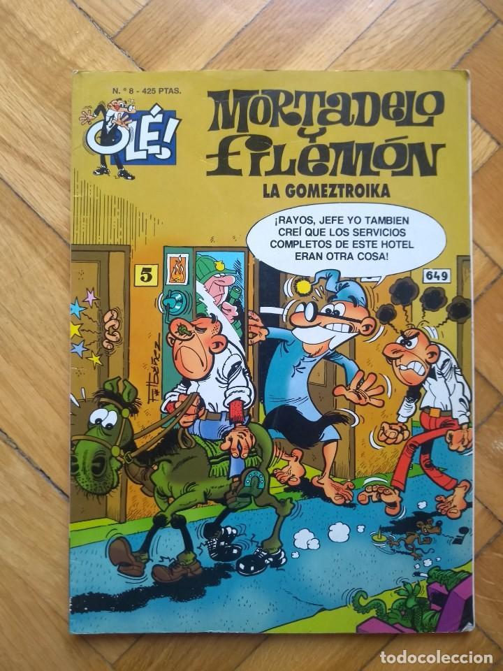COLECCIÓN OLÉ MORTADELO Y FILEMÓN Nº 8: LA GOMETROIKA - 3ª EDICIÓN 2000 (Tebeos y Comics - Ediciones B - Clásicos Españoles)