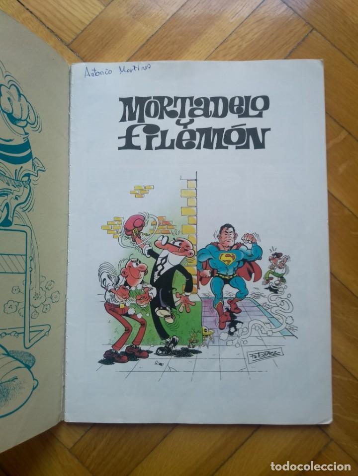 Cómics: Colección Olé Mortadelo y Filemón nº 8: La Gometroika - 3ª Edición 2000 - Foto 2 - 217975296