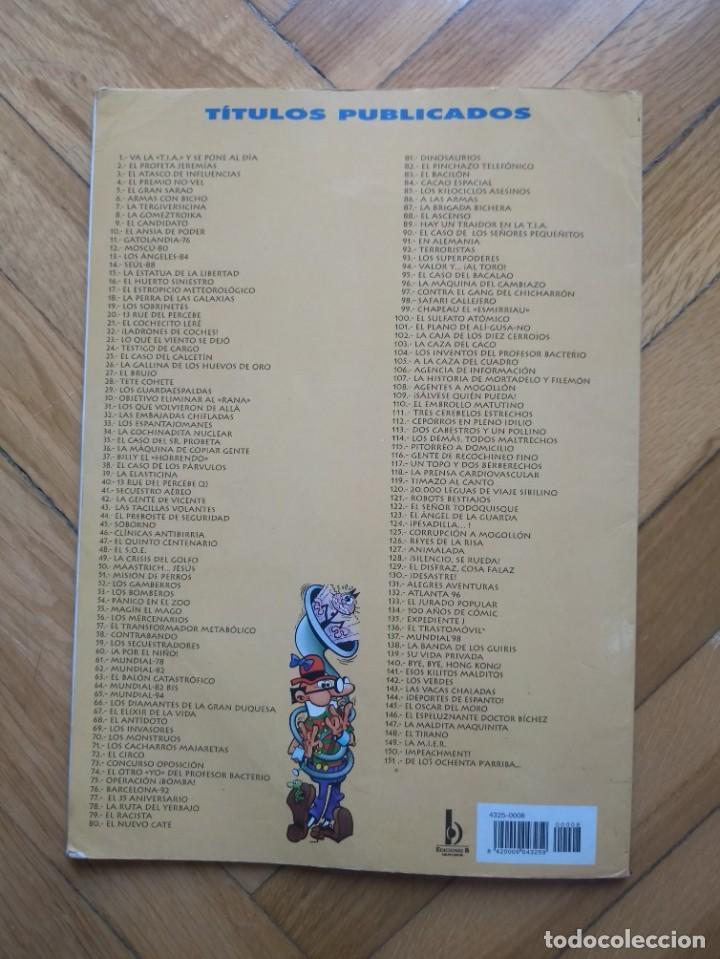 Cómics: Colección Olé Mortadelo y Filemón nº 8: La Gometroika - 3ª Edición 2000 - Foto 4 - 217975296