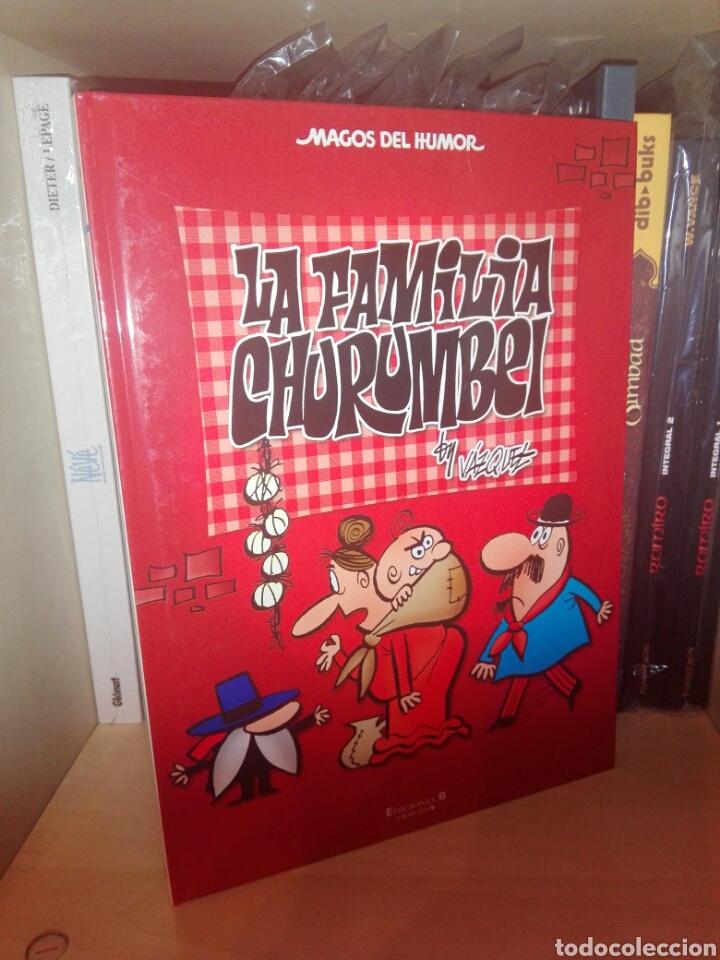 LA FAMILIA CHURUMBEL MAGOS DEL HUMOR EDICIONES B (Tebeos y Comics - Ediciones B - Clásicos Españoles)