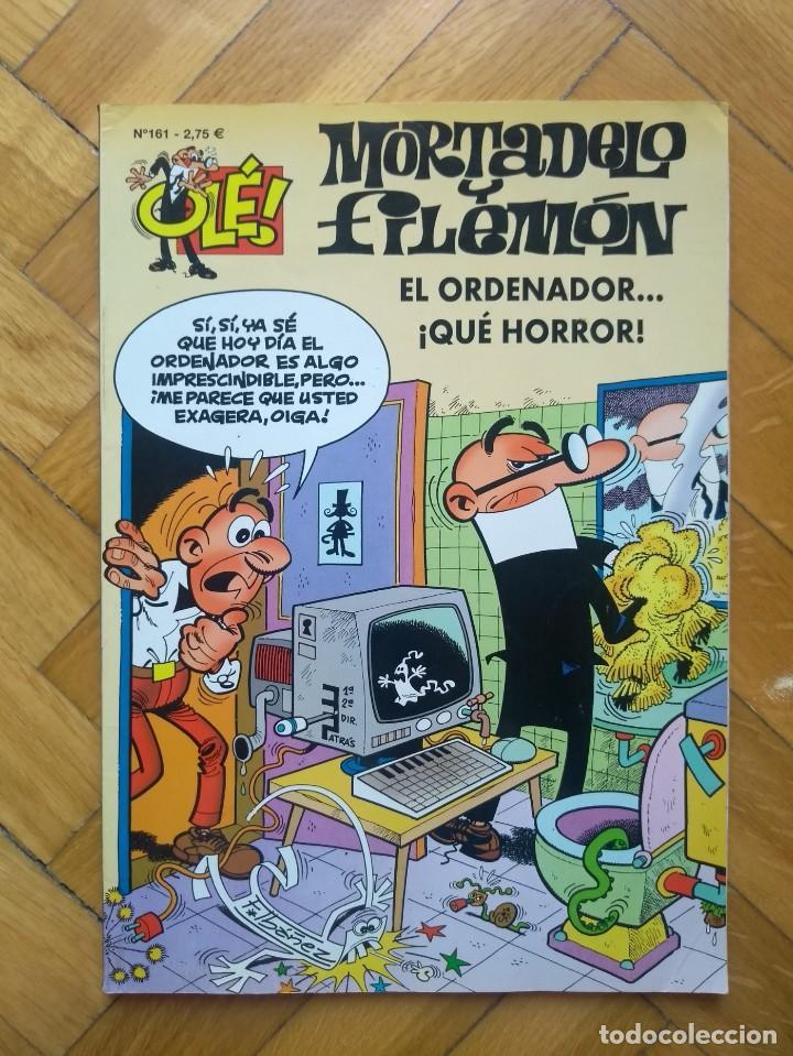 COLECCIÓN OLÉ MORTADELO Y FILEMÓN Nº 161: EL ORDENADOR ... ¡QUÉ HORROR! (Tebeos y Comics - Ediciones B - Clásicos Españoles)