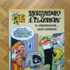 Cómics: COLECCIÓN OLÉ MORTADELO Y FILEMÓN Nº 161: EL ORDENADOR ... ¡QUÉ HORROR!. Lote 217978908