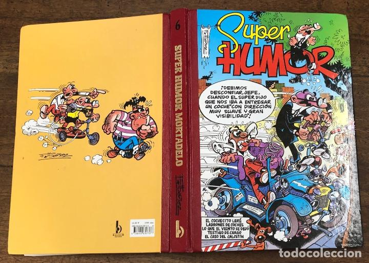 SUPER HUMOR MORTADELO. Nº 6. EDICIONES B, 2001. 4ª EDICION (Tebeos y Comics - Ediciones B - Clásicos Españoles)