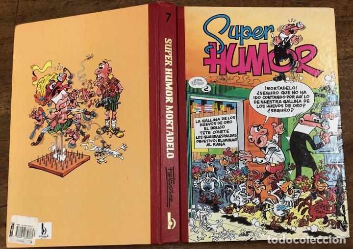 SUPER HUMOR MORTADELO. Nº 7. EDICIONES B, 2001. 4ª EDICION (Tebeos y Comics - Ediciones B - Clásicos Españoles)