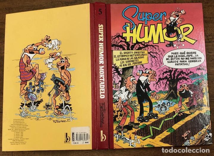 SUPER HUMOR MORTADELO. Nº 5. EDICIONES B, 2001. 4ª EDICION (Tebeos y Comics - Ediciones B - Clásicos Españoles)