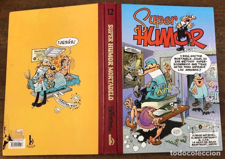 SUPER HUMOR MORTADELO. Nº 12. EDICIONES B, 2001. 4ª EDICION (Tebeos y Comics - Ediciones B - Clásicos Españoles)