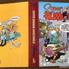 Cómics: SUPER HUMOR MORTADELO. Nº 12. EDICIONES B, 2001. 4ª EDICION. Lote 217980166
