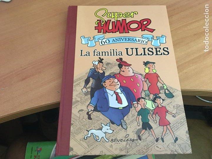 SUPER HUMOR Nº 1 60 ANIVERSARIO LA FAMILIA ULISES (EDICIONES B) (COIB138) (Tebeos y Comics - Ediciones B - Clásicos Españoles)