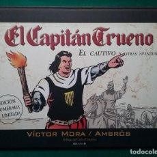 Cómics: EL CAPITÁN TRUENO EL CAUTIVO EDICIÓN NUMERADA Y LIMITADA VÍCTOR MORA. Lote 218106257