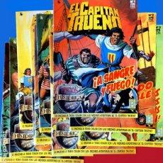 Cómics: EL CAPITÁN TRUENO, LOTE DE 10 PORTADAS (Nº 1 AL 10) - DE A. BERNAL - EDICIÓN HISTÓRICA - EDICIONES B. Lote 218143165