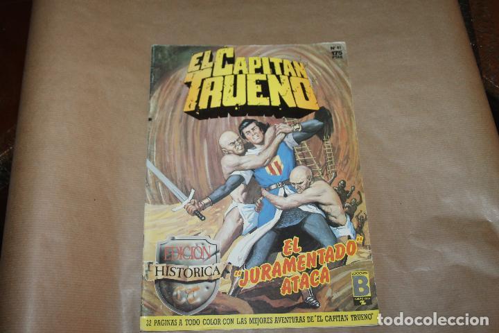 EL CAPITÁN TRUENO Nº 41, EDICIÓN HISTÓRICA, EDICIONES B (Tebeos y Comics - Ediciones B - Clásicos Españoles)