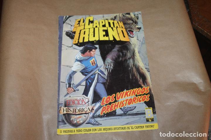 EL CAPITÁN TRUENO Nº 25, EDICIÓN HISTÓRICA, EDICIONES B (Tebeos y Comics - Ediciones B - Clásicos Españoles)
