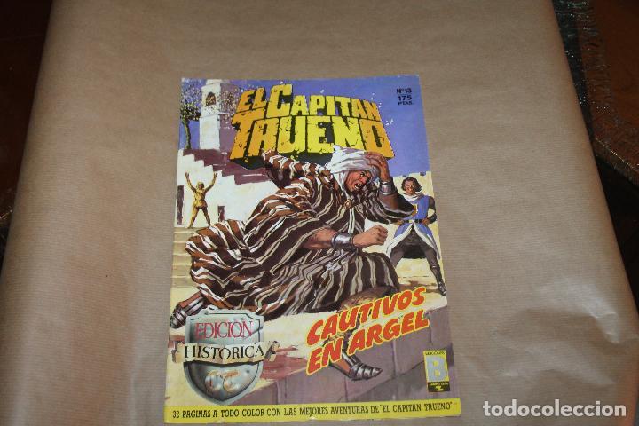 EL CAPITÁN TRUENO Nº 13, EDICIÓN HISTÓRICA, EDICIONES B (Tebeos y Comics - Ediciones B - Clásicos Españoles)