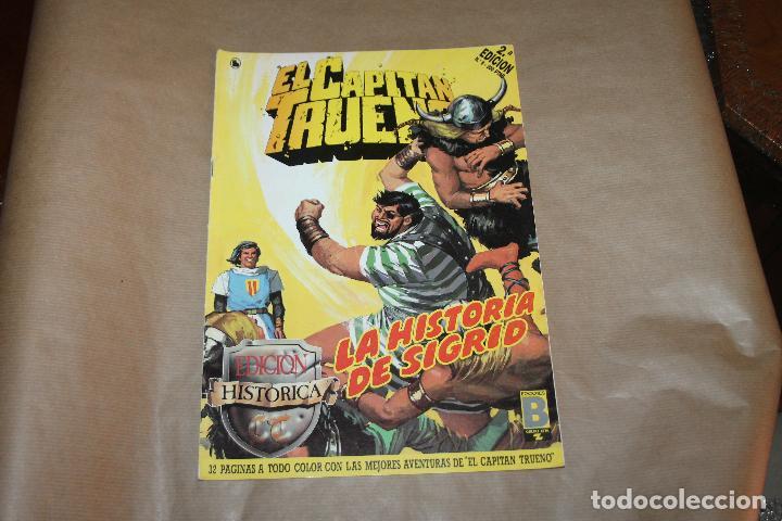 EL CAPITÁN TRUENO Nº 8, 2ª EDICIÓN, EDICIÓN HISTÓRICA, EDICIONES B (Tebeos y Comics - Ediciones B - Clásicos Españoles)