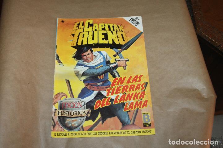 EL CAPITÁN TRUENO Nº 4, 2ª EDICIÓN, EDICIÓN HISTÓRICA, EDICIONES B (Tebeos y Comics - Ediciones B - Clásicos Españoles)