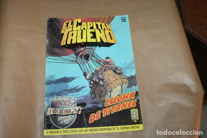 EL CAPITÁN TRUENO Nº 23, EDICIÓN HISTÓRICA, EDICIONES B (Tebeos y Comics - Ediciones B - Clásicos Españoles)