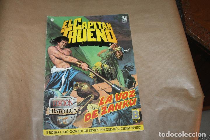 EL CAPITÁN TRUENO Nº 9, EDICIÓN HISTÓRICA, EDICIONES B (Tebeos y Comics - Ediciones B - Clásicos Españoles)