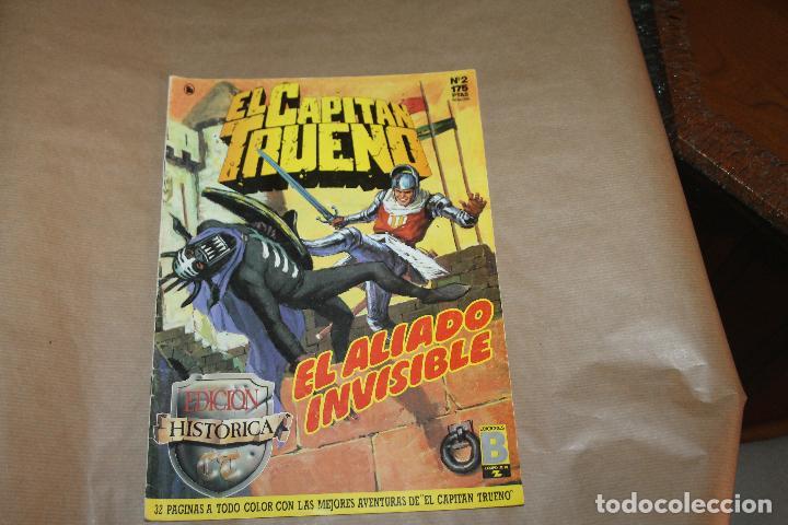 EL CAPITÁN TRUENO Nº 2, EDICIÓN HISTÓRICA, EDICIONES B (Tebeos y Comics - Ediciones B - Clásicos Españoles)