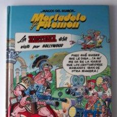 Cómics: MORTADELO Y FILEMÓN: LA HISTORIA ESA VISTA POR HOLLYWOOD - MAGOS DEL HUMOR Nº 62. Lote 218459788