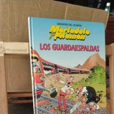 Cómics: MORTADELO Y FILEMÓN: LOS GUARDAESPALDAS (GRANDES DEL HUMOR Nº 5 TAPA DURA). Lote 218476512