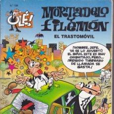 Cómics: COMIC COLECCION OLE MORTADELO Y FILEMON EDICIONES B EL TRASTOMOVIL. Lote 218503693