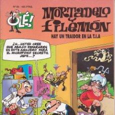 Cómics: COMIC COLECCION OLE MORTADELO Y FILEMON EDICIONES B HAY UN TRAIDOR EN LA T.I.A.. Lote 218503798