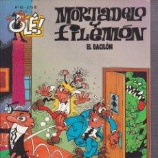 Cómics: COMIC COLECCION OLE MORTADELO Y FILEMON EDICIONES B EL BACILON. Lote 218503826