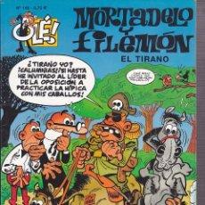 Cómics: COMIC COLECCION OLE MORTADELO Y FILEMON EDICIONES B EL TIRANO. Lote 218503861