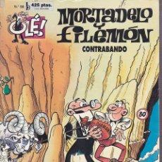 Cómics: COMIC COLECCION OLE MORTADELO Y FILEMON EDICIONES B CONTRABANDO. Lote 218504070