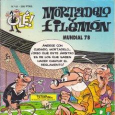 Cómics: COMIC COLECCION OLE MORTADELO Y FILEMON EDICIONES B MUNDIAL 78. Lote 218504130